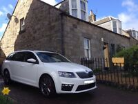 Skoda Octavia VRS Estate Candy White FSH Very Good Condition