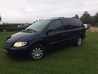 CHEAP LARGE 7 SEATER 2006 CHRYSLER GRAND VOYAGER LTD AUTO DIESEL - LOOKS & DRIVES SUPERB