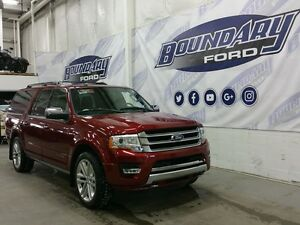 """2015 Ford Expedition Max Platinum W/ Sunroof, Leather, 22"""" Wheel"""