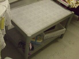 Shabby chic Coffee table/ tv stand