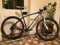 Merida Big.Nine Carbon Fibre 3000 Hardtail 29er Mountian Bike 2014