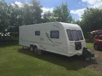 Bailey Olympus 2010 4 birth fixed bed large twin axle Caravan
