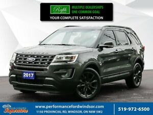 2017 Ford Explorer XLT **Appearance package, NAV, leather***