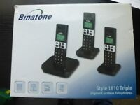 Binatone Style 1810 TRIPLE Set Cordless DECT Phones BRAND NEW Boxed