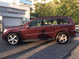 MERCEDES BENZ GL 500 4MATIC LEFT HAND DRIVE 7 SEATER LOW MILLAGE AMG FULLY LOADED LHD