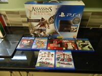PS4 1TB with 7 games