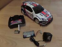 Radio Controlled Ford Focus rally car