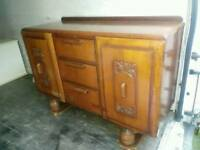 Very Old Wooden Sideboard can deliver