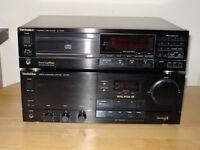 TECHNICS DIGITAL AMP and CD PLAYER