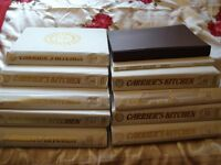 Very Rare Cookery Collection Carrier's Recipes Kitchen Folders/Magazines/Books