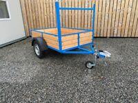 NEW 6 X 4FT CAR TRAILER ( quad tractor power washer garden lawnmower )