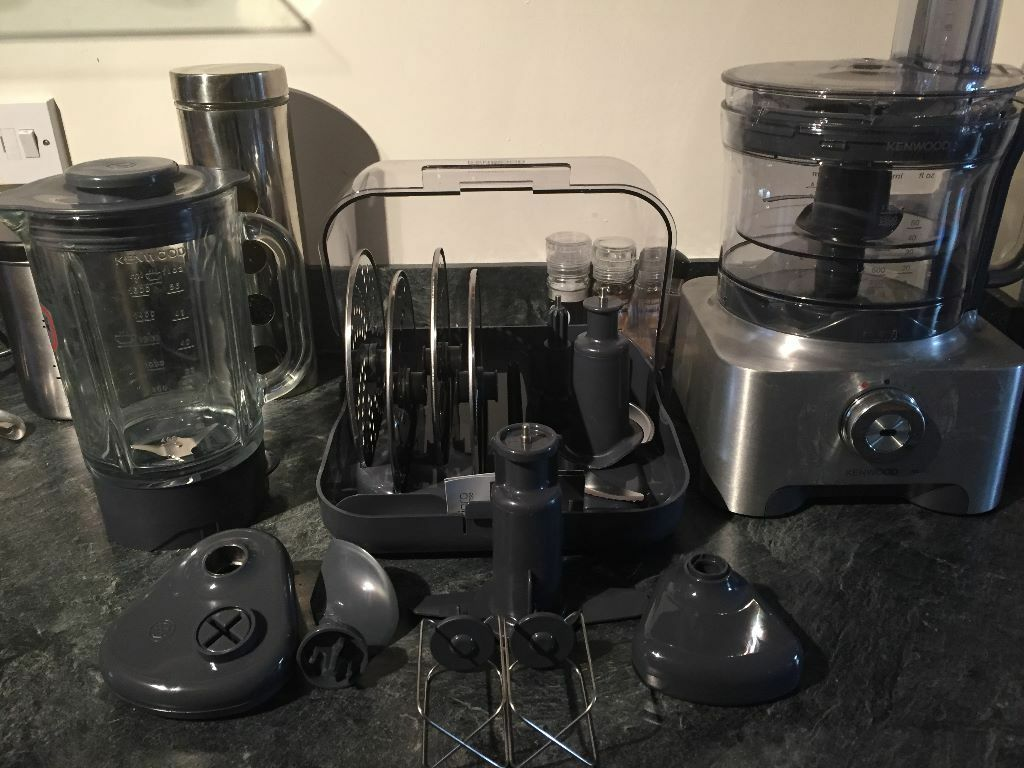 Kenwood multipro fdm800 food processor blender attachments storage box in newcastle tyne - Julienne blade food processor ...