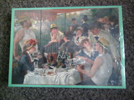 JIGSAW PUZZLE (Luncheon Of The Boating Party) 1000 piece.