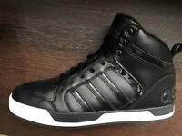 Hyper Rare Adidas High Tops size 10.5 Black & White