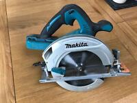 Marita 36volt makita skill saw hardly been used
