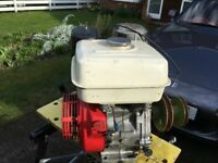 Honda GX 240 mower engine, fully working and stored inside garage
