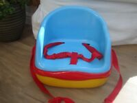 Mothercare Booster Seat and Step Stool.