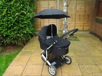 MAMAS AND PAPAS ALL IN ONE PUSHCHAIR AND PRAM FOR SALE