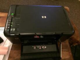 HP Deskjet F4580 All-in-One Printer Scanner and Copier Wireless VGWC