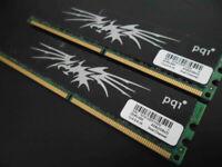 RAM PC DDR2 4GB (2x2GB) PC6400 800MHz PQI