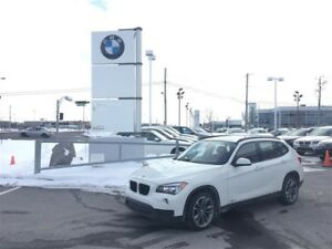 2014 BMW X1 JANTES 18'' / CUIR ROUGE / GPS / TOIT PANO