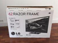 42 inch LG Razor Frame Plasma TV - 42PT353K