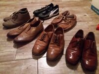 Used mens shoes size 10
