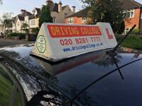 Driving School in North London. Driving lessons. Driving instructor in Manual & Automatic car.