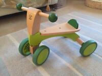 Hape Scoot around wooden trike