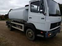 Mercedes-Benz water tanker 814 ideal export