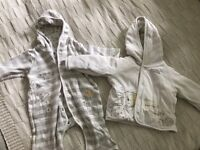 A big bundle of baby clothes newborn/0-3months