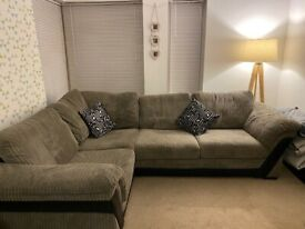 Corner Sofa & matching Chair