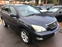 2003/53 LEXUS RX 300 3.0 SF 5DR BLACK,PREMIUM LUXURY WITH VERY HIGH SPEC HEATED SEATS,CRUISE CONRTOL
