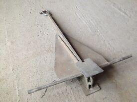 Folding Danforth boat anchor
