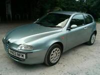 Alfa Romeo 147 T Spark 1.6L Petrol 3 Door, 12 Months Mot