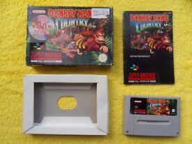 DONKEY KONG COUNTRY - snes / super nintendo