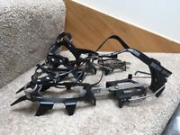 DMM Crampons - Aiguille - with antiballing plate and protective bag