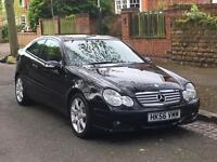 2007 MERCEDES-BENZ C CLASS 220 CDI 2DR 12 MONTHS MOT! 1 OWNER! IMMACULATE CONDITION!
