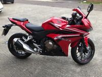 Honda CBR 500 RA-G as new condition