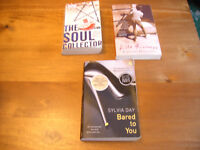3 PAPERBACK BOOKS and 1 QUIZ BOOK