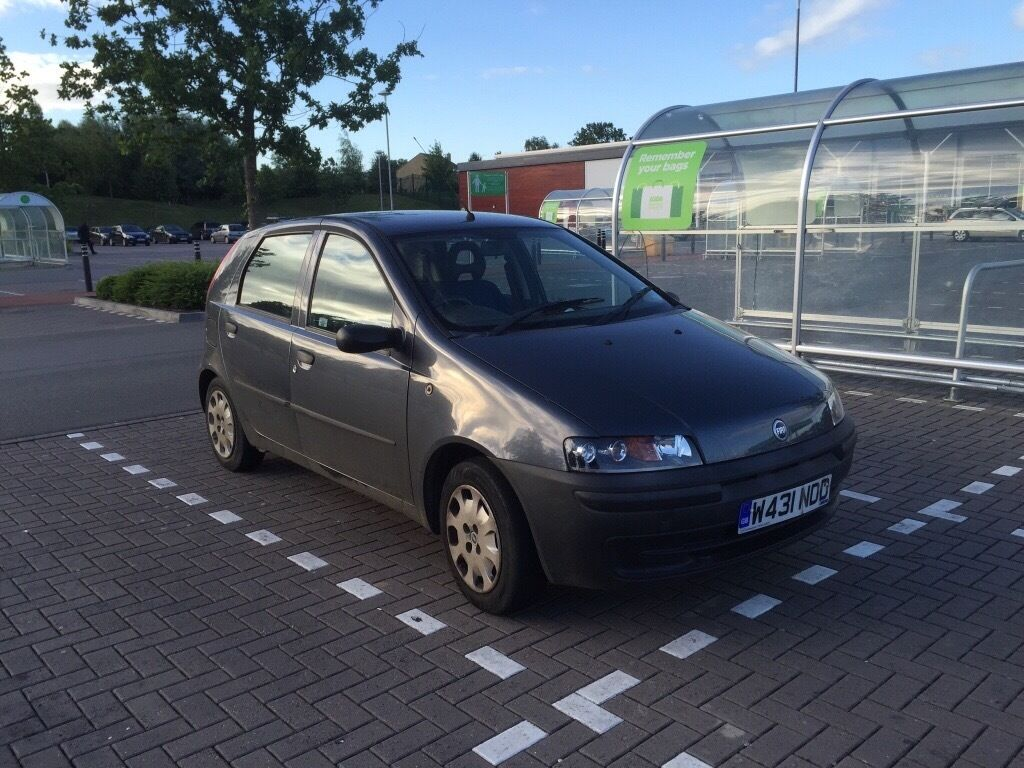 fiat punto 2000 mot until march 2017 63 200 on clock in cheltenham gloucestershire gumtree. Black Bedroom Furniture Sets. Home Design Ideas