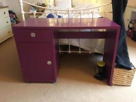 Habitat purple desk