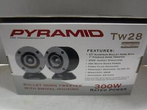 Pyramid Bullet Horn Tweeter. We Sell Audio Equiptment. 108232.*