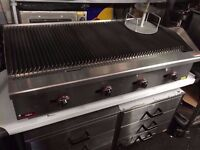 CATERING BBQ KITCHEN FLAME GRILL CAFE FASTFOOD RESTAURANT CUISINE COMMERCIAL 4FT TAKEAWAY