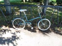 """Vintage 1977 RALEIGH Shopper Bicycle. Fully Serviced & Ready To Ride. Guaranteed. 3 Speed. 16"""" Frame"""