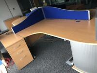 Top end office Furniture desks cabinets chairs
