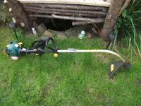 Light Weight Professional Petrol Garden StrimmerTrimmer! Runs Great!