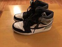 Air Jordan & Nike air.