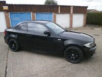 BMW 118D ES COUPE 10 PLATE WITH BLACK ALLOYS