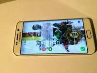 Samsung Galaxy S6 Edge unlocked 64gig in white
